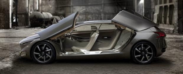 Frankfurt Motor Show 2011: HX1, un concept spectaculos marca Peugeot!
