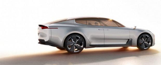 Frankfurt Motor Show 2011: Kia RWD Concept, poze noi cu sedanul corean