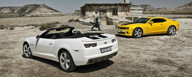 Frankfurt Motor Show 2011: legendarul Camaro, spectaculosul Miray si noul Malibu la standul Chevy