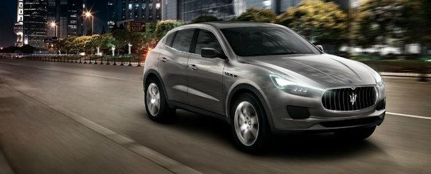 Frankfurt Motor Show 2011: Maserati dezvaluie noul Kubang, primul SUV din istoria sa!