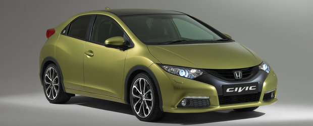 Frankfurt Motor Show 2011: noua Honda Civic, dezvaluita inaintea salonului
