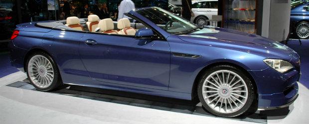 Frankfurt Motor Show 2011: Noul Alpina B6 Bi-Turbo saluta iubitorii de modele cabrio!