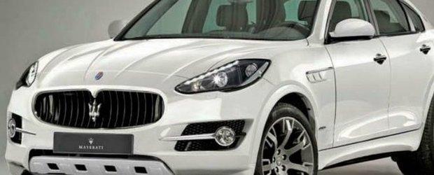 Frankfurt Motor Show 2011: noul SUV Maserati poate fi dezvaluit in premiera
