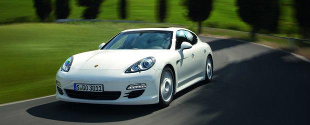 Frankfurt Motor Show 2011: Porsche lanseaza primul model Panamera Diesel