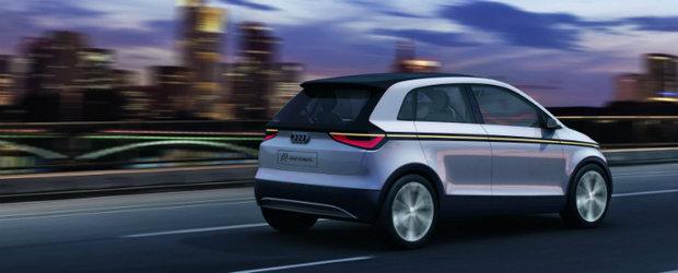 Frankfurt Motor Show 2011: Primele imagini cu noul Audi A2 Concept