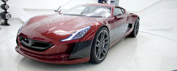 Frankfurt Motor Show 2011: Rimac Concept One - Supercarul electric de 1.088 cai!