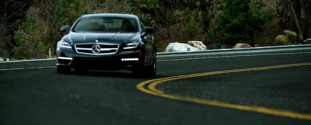 Frumoasa si bestia: Test la limita cu noul Mercedes CLS63 AMG S-Model