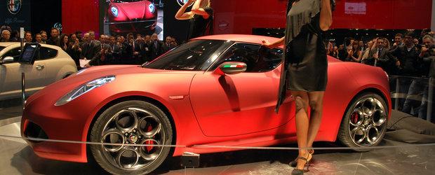 Frumusete la superlativ: Alfa Romeo 4C, direct de la Geneva Motor Show