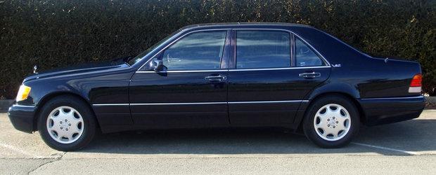 Frumusetea ASTA de Mercedes cu motor V12 si scaune individuale era regina limuzinelor acum 20 de ani. POZE REALE