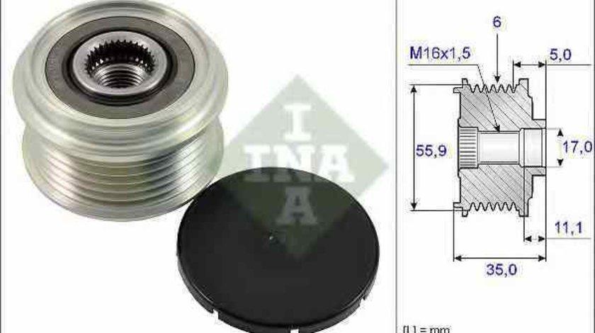 Fulie alternator AUDI A5 (8T3) INA 535 0222 10