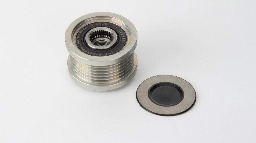 Fulie alternator BMW Seria 3 (E46), 3 (E90), 3 (E91), 3 (E92), 3 (E93), 5 (E60), 5 (E61), 6 (E64), 7 (E65, E66, E67), X3 (E83); CHEVROLET AVEO, CRUZE, ORLANDO, TRAX; OPEL ADAM, ASTRA J 1.2-3.0 d dupa 1