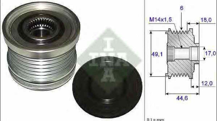Fulie alternator FORD S-MAX WA6 INA 535 0182 10