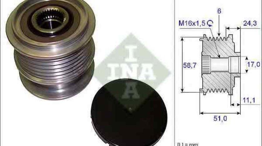 Fulie alternator FORD S-MAX (WA6) INA 535 0200 10