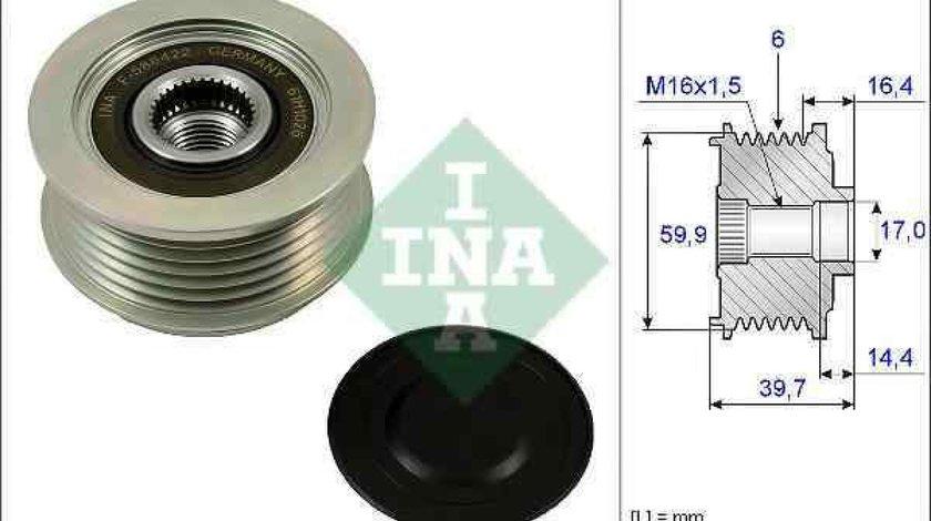 Fulie alternator KIA MAGENTIS (MG) INA 535 0241 10