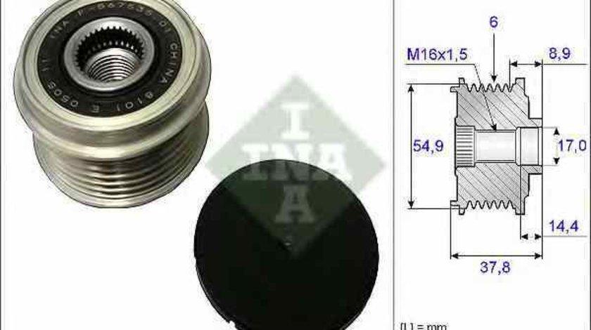 Fulie alternator KIA SORENTO II XM INA 535 0217 10