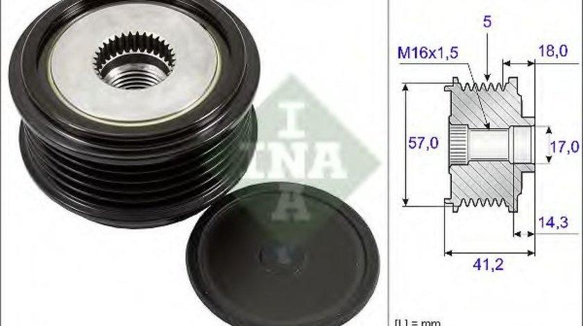 Fulie alternator KIA SOUL (AM) (2009 - 2013) INA 535 0248 10 - produs NOU