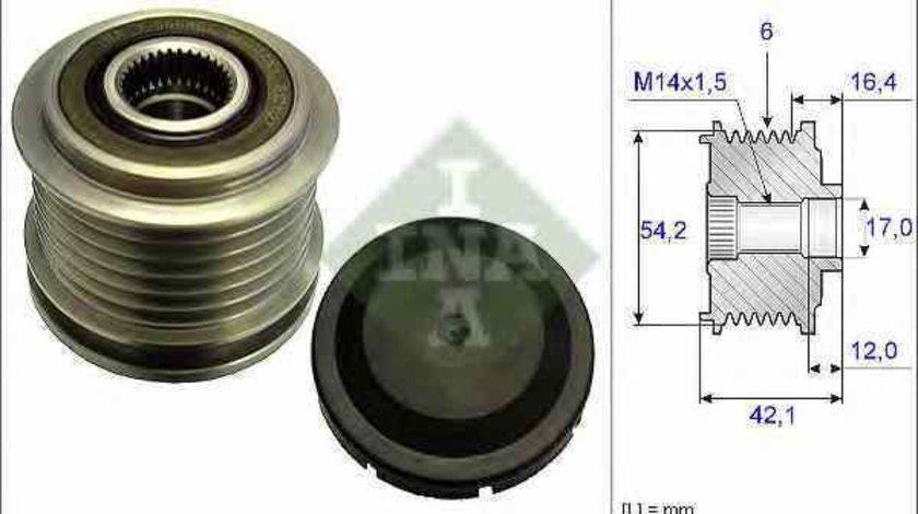Fulie alternator MAZDA 3 BL INA 535 0181 10