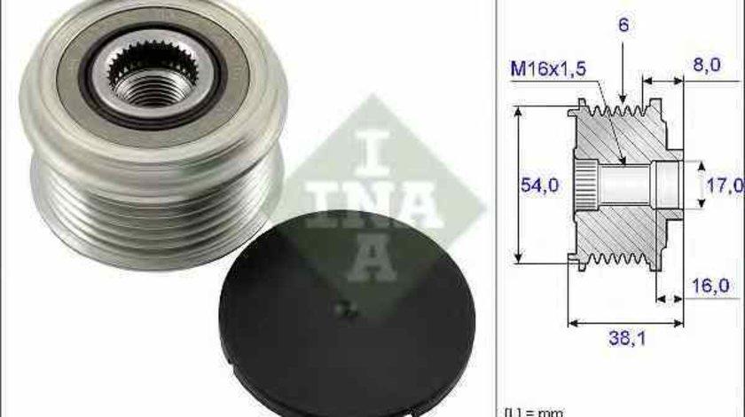 Fulie alternator OPEL AGILA A H00 INA 535 0063 10