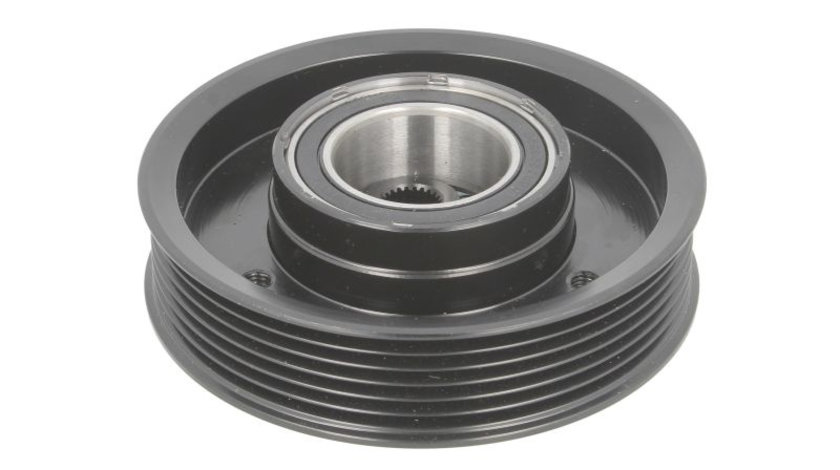 Fulie ambreiaj compresor AC clima (DELPHI DH5 12V 6A 110mm) AUDI A1, A3, Q2, Q3, TT; SEAT ALTEA, ALTEA XL, IBIZA IV, LEON, LEON SC, LEON ST, TOLEDO III, TOLEDO IV 1.0-3.6 dupa 1995