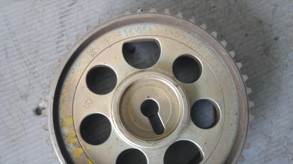 Fulie pinion ax cu came opel zafira b 1.6 benz z16yng 90536058