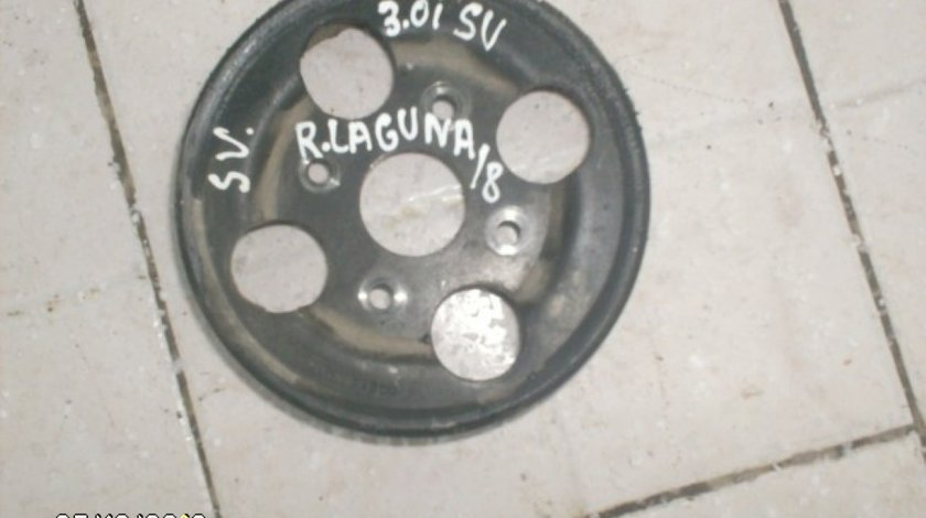 Fulie pompa servo directie Renault Laguna