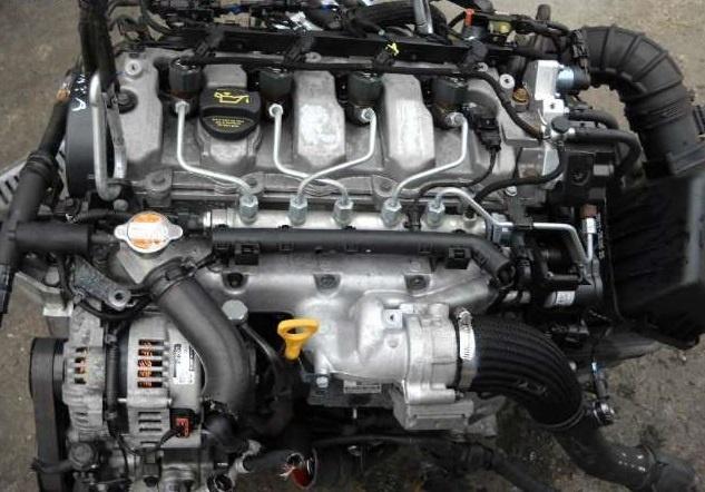 Fulie vibrochen Hyundai Santa Fe, Tucson, Trajet, Kia Sportage 2.0 CRDI