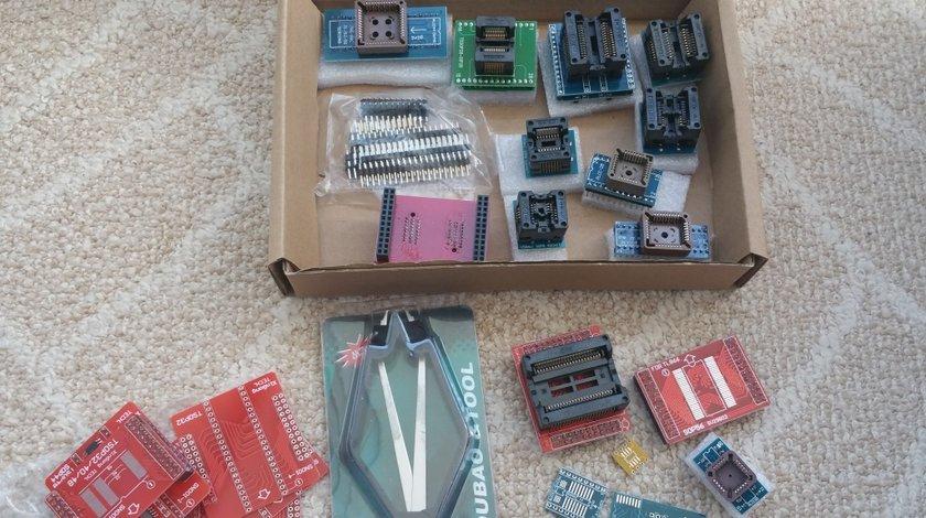 Full set 21 adaptoare pentru programator EEPROM miniPro TL866A TL866CS