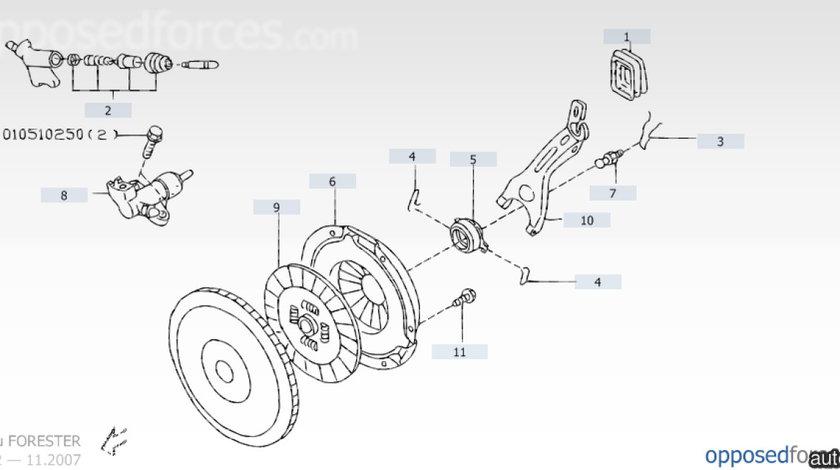 Furca ambreiaj Subaru Forester motor 2.0 SUBARU OE 30530aa