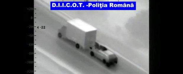 Furt din camion ca in Fast and Furious, dar in Romania!