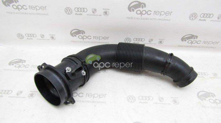Furtun admisie cu senzor Audi Q7 4L / VW Touareg 7L - 3.0 TDI - Cod: 7L6129627J