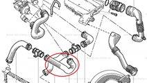 Furtun aer intercooler Renault Kangoo, conducta or...