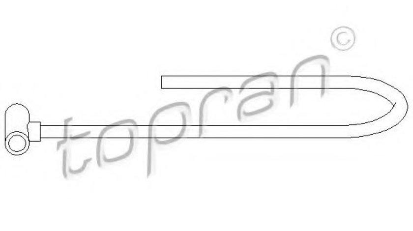 Furtun,aerisire bloc motor SEAT IBIZA II (6K1) (1993 - 1999) TOPRAN 107 393 piesa NOUA
