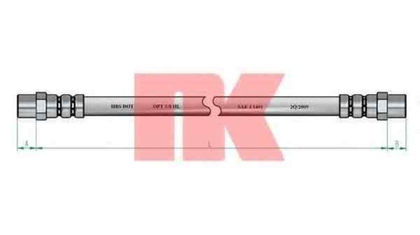 Furtun frana AUDI 100 (4A, C4) NK 854709
