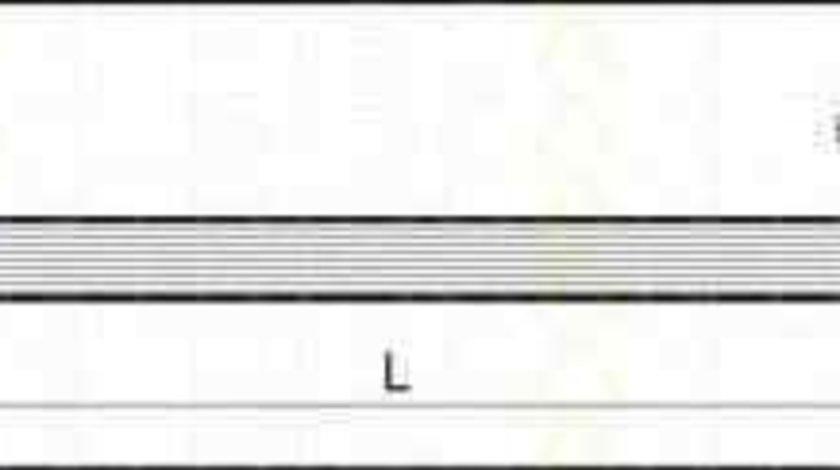 Furtun frana AUDI 80 (81, 85, B2) TRISCAN 8150 29105