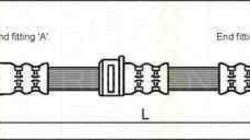 Furtun frana CHEVROLET ASTRA hatchback TRISCAN 8150 24123