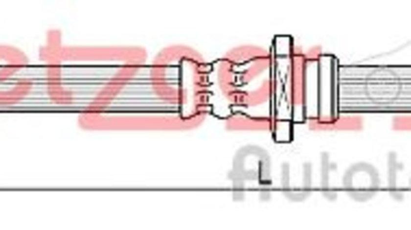 Furtun frana HYUNDAI TUCSON (JM) (2004 - 2010) METZGER 4110670 piesa NOUA