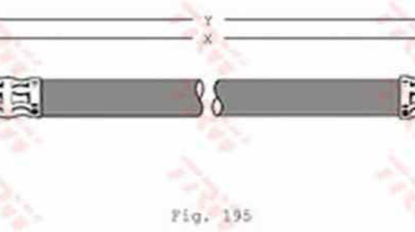 Furtun frana MERCEDES-BENZ C-CLASS combi S202 TRW PHB320