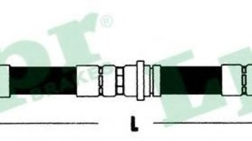 Furtun frana OPEL ASTRA G Cabriolet (F67) (2001 - 2005) LPR 6T46793 piesa NOUA