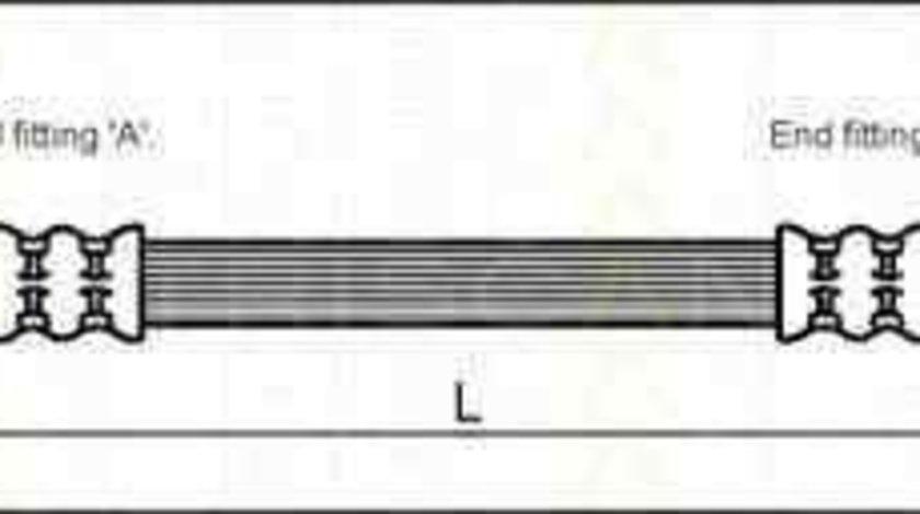 Furtun frana OPEL ASTRA G combi (F35_) TRISCAN 8150 24215