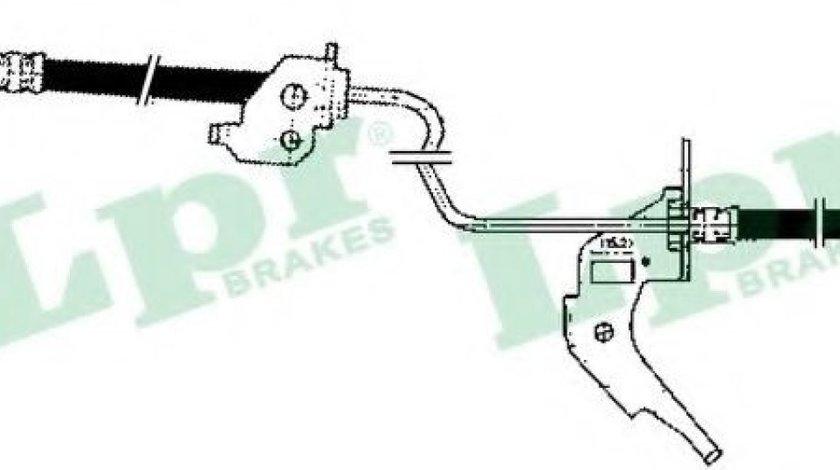 Furtun frana OPEL ASTRA G Hatchback (F48, F08) (1998 - 2009) LPR 6T47906 piesa NOUA