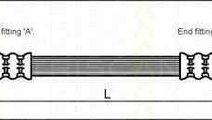Furtun frana OPEL ASTRA G hatchback (F48_, F08_) T...