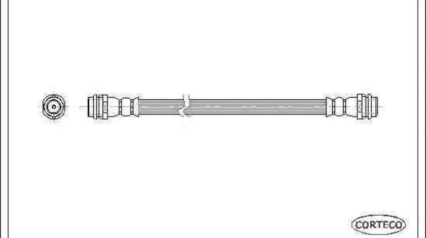 Furtun frana VW GOLF IV (1J1) CORTECO 19025904