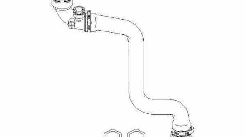 Furtun radiator BMW 3 E46 TOPRAN 501 562