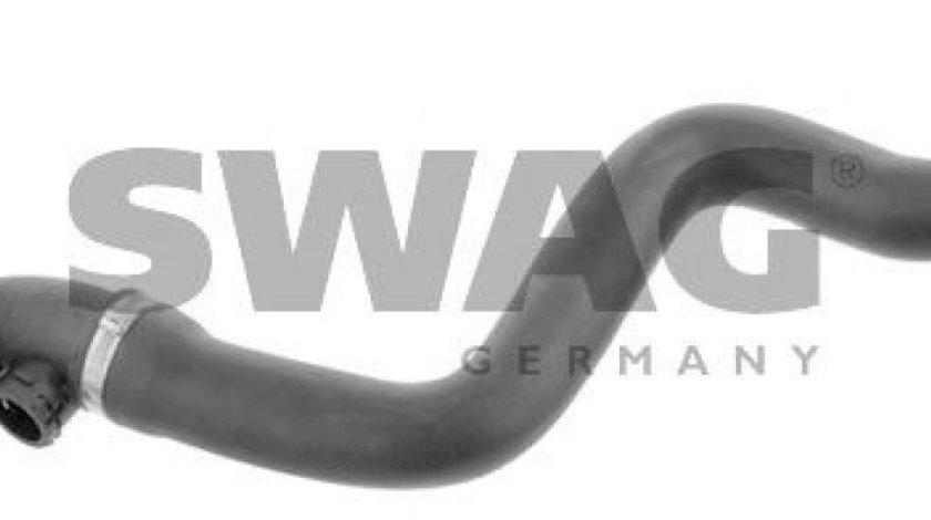 Furtun radiator BMW Seria 3 (E46) (1998 - 2005) SWAG 20 93 2601 piesa NOUA