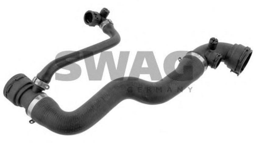 Furtun radiator BMW Seria 3 (E46) (1998 - 2005) SWAG 20 93 7461 piesa NOUA