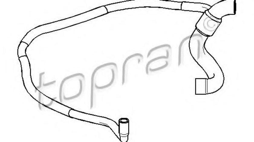 Furtun radiator OPEL CORSA B (73, 78, 79) (1993 - 2002) TOPRAN 206 705 piesa NOUA