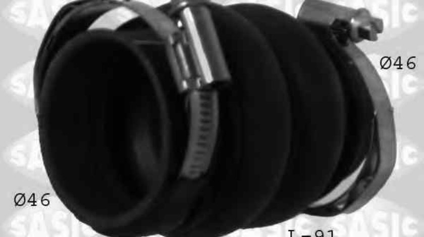 Furtun turbo intercooler CITROËN C4 cupe (LA_) SASIC 3330008