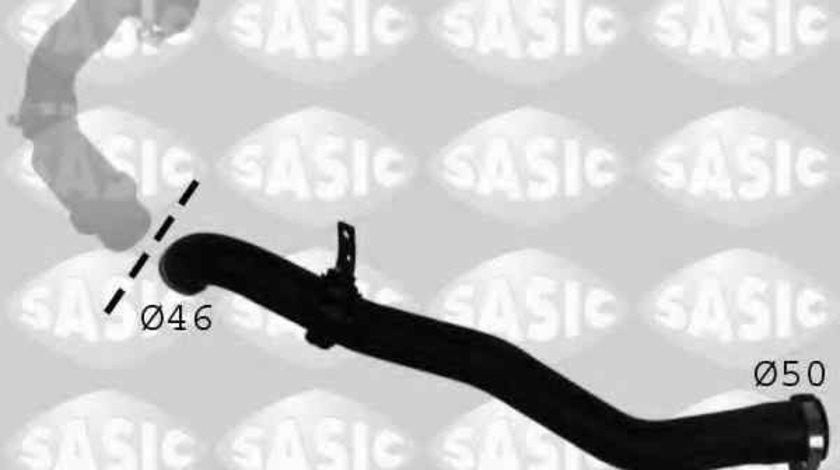 Furtun turbo intercooler DACIA LOGAN LS SASIC 3334017