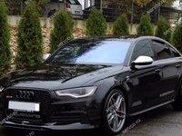 Fusta Prelungire spoiler bara fata Audi A6 4G C7 2011 2012 2013 2014 ABT Sline S6 Rs6
