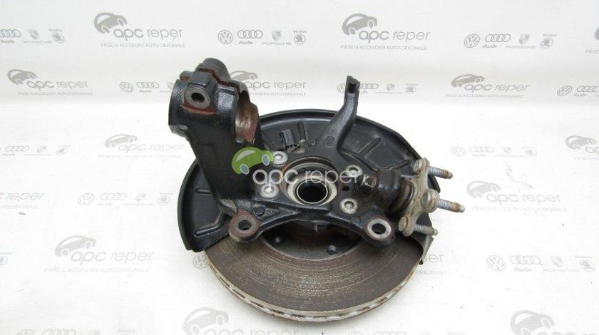 Fuzeta dreapta fata + rulment VW Jetta 5C (2011 - 2018) - Cod: 5C0407256 / 5K0498621